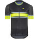 Alé Cycling PRR 2.0 Speed Fondo SS Jersey Men black-fluo yellow-turquoise